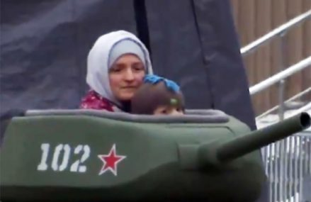 Танкодром в «Сокольниках»: аттракцион привлек внимание США