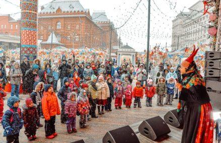 Список площадок фестиваля «Московская Масленица»