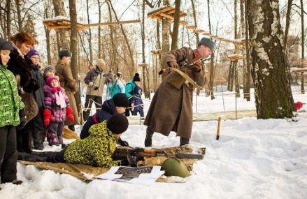 День защитника Отечества в парках Москвы