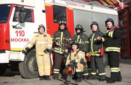 Пожарный караул из ВАО спас девочку с улицы Молдагуловой