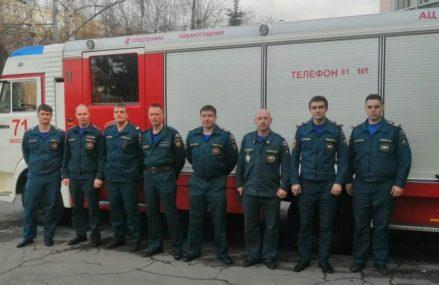 Пожарные ВАО спасли 7 человек