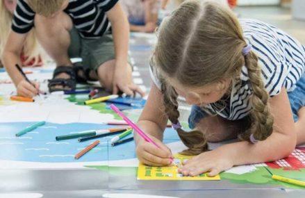 В парках открылись творческие и спортивные занятия для детей