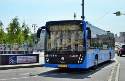 Бесплатные автобусы запустят в Москве на время закрытия четырех станций метро