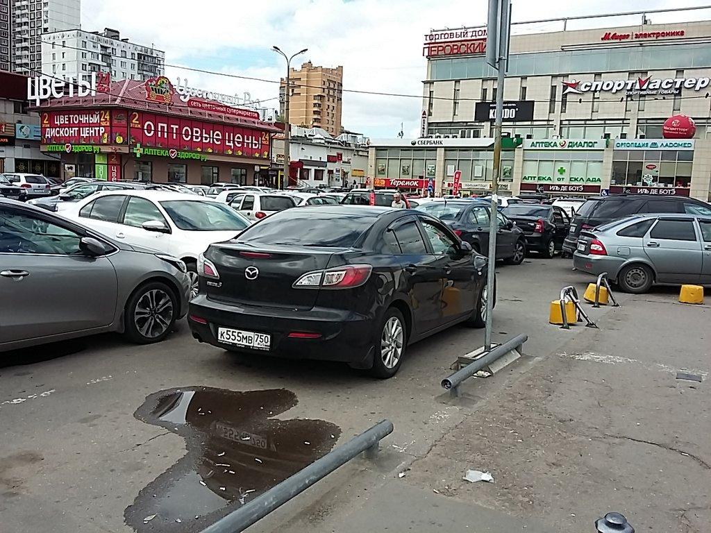 Парковки в ВАО Москва