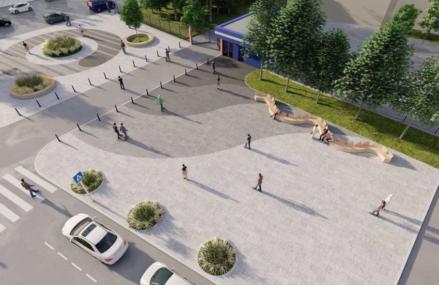 Рядом со станцией «Электрозаводская» БКЛ появятся новые общественные пространства