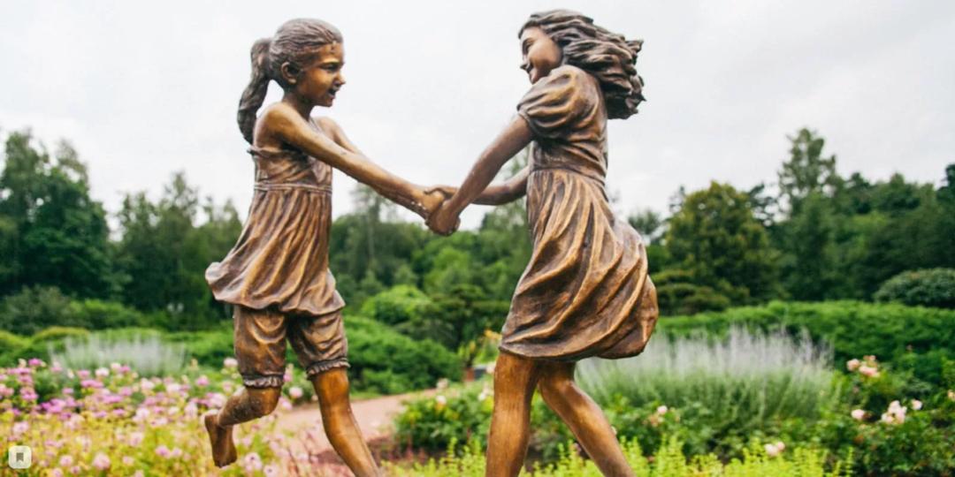 скульптура Детство парк Сокольники