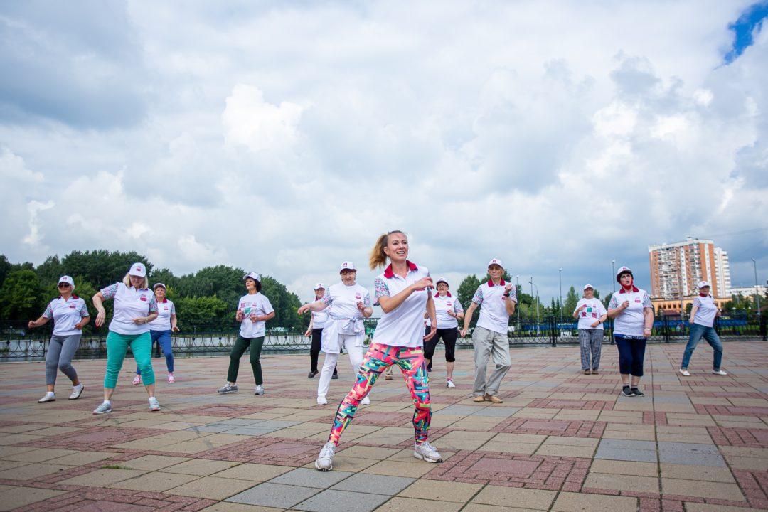 Фитнес - Московское долголетие