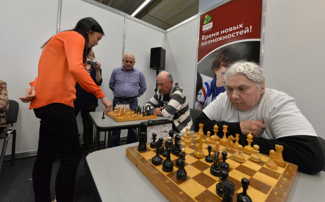 Шахматы - Московское долголетие.