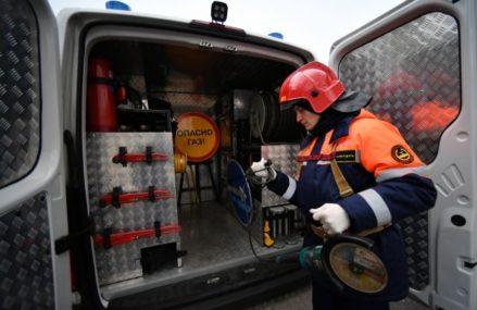 На востоке Москвы прорвало газовую трубу