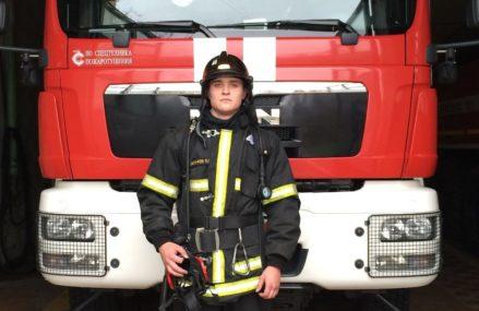 Герой недели: пожарный из Сокольников спас упавшую в реку женщину