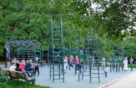 Самые функциональные воркаут-площадки в парках Москвы