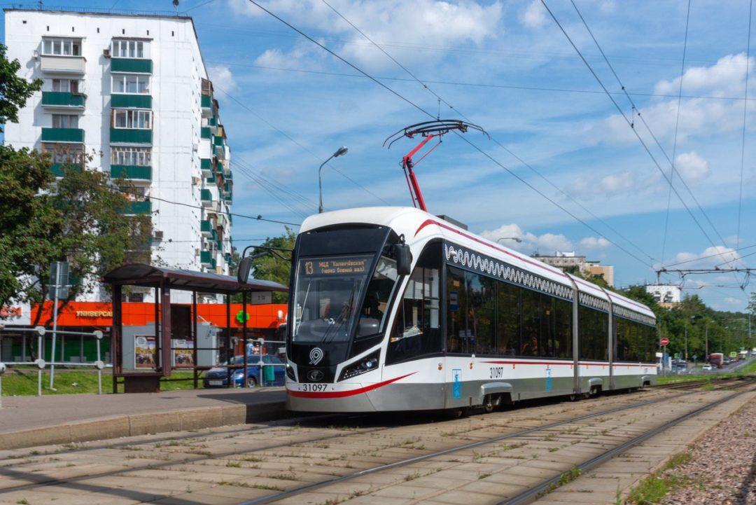 трамвай Преображенская площадь