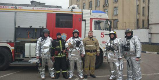 Во время пожара на Кусковской спасли двух женщин
