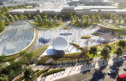 ТРЦ перед Павелецким вокзалом откроется в 2021 году