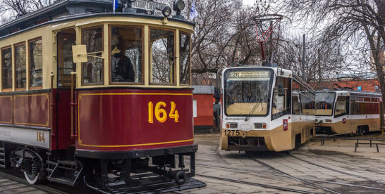 История московского трамвая