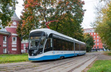 Маршруты трамваев изменятся на востоке Москвы