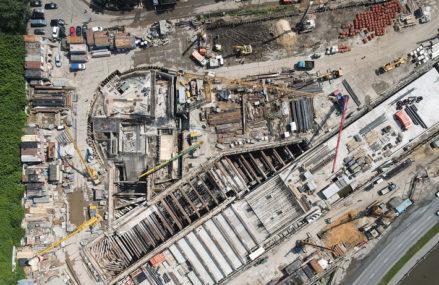 Станцию Большой кольцевой линии московского метро «Электрозаводская» откроют к концу года