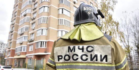Один человек пострадал при пожаре в квартире на востоке Москвы