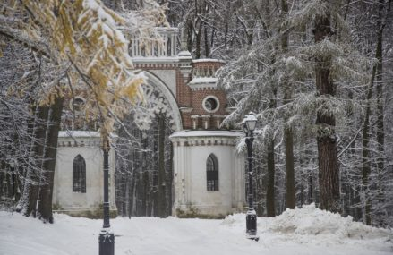 Прогулки по парку Царицыно в Москве — Парковый маршрут