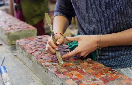 Осколки времени: как реставрируют мозаику Щелковского автовокзала