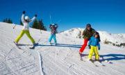 Покататься на горных лыжах и сноуборде можно в Москве и Подмосковье.