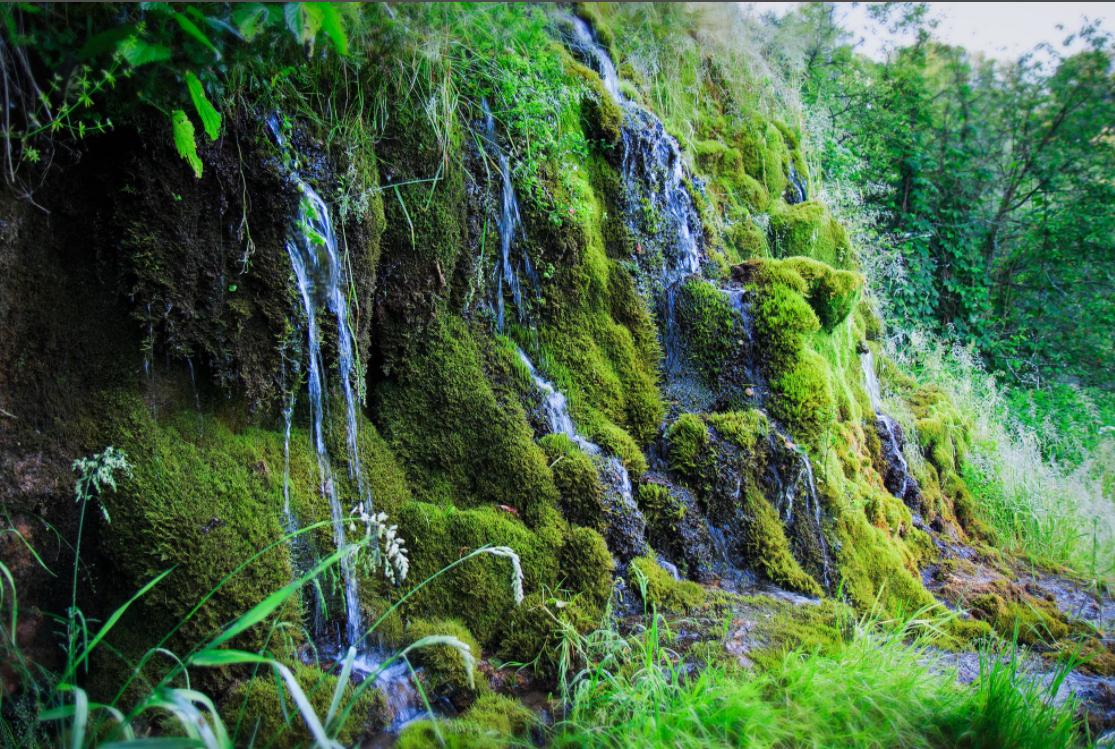 долина семи ручьев водопад