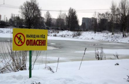 Жителей Подмосковья предупредили о таянии льда на водоемах из‑за потепления