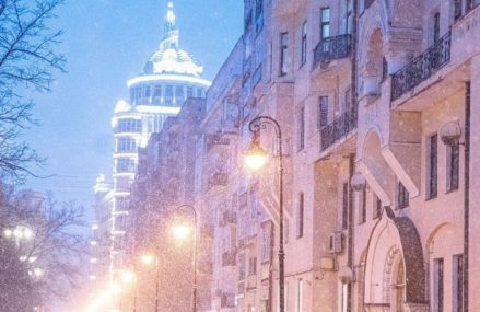 Прекрасная зимняя Москва