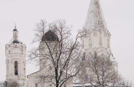 Маршрут по зимнему парку Коломенское