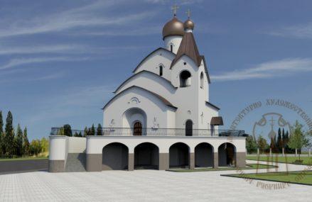 В Перово построен храм в честь иконы Божией Матери «Взыскание погибших»