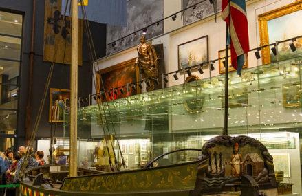 От потешного флота до мощных фрегатов: создание Петром морской державы