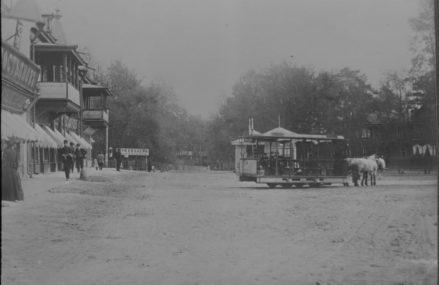 Мощение и асфальтирование дорог и тротуаров в районах Сокольники и Богородское в начале 1930-х годов.
