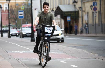 Велопрокат впервые заработает в нескольких районах Москвы