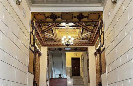 Доходный дом Кальмеера, роскошное здание, созданное в 1914 году архитектором Дубовским