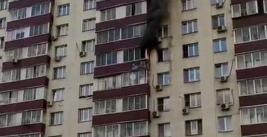 При пожаре в Гольянове спасли пятерых человек