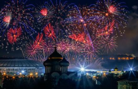 Где в Москве посмотреть салют и фейерверк 9 мая