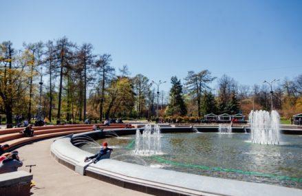 В парке «Сокольники» открылась обновленная зона отдыха на Фонтанной площади