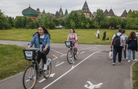 Где в Москве пролегают самые живописные велосипедные маршруты?