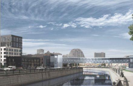 Пешеходный мост через Яузу построят к концу года