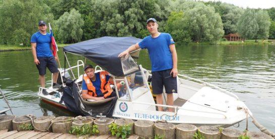 За один день спасатели вытащили из Терлецкого пруда четырёх человек